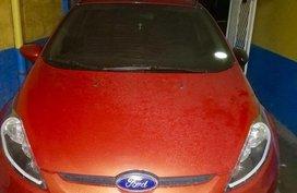 Orange Ford Fiesta 2011 for sale in Munoz