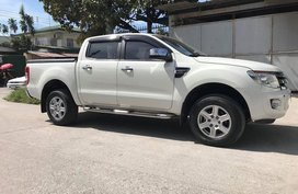 White Ford Ranger 2014 for sale in Angeles City