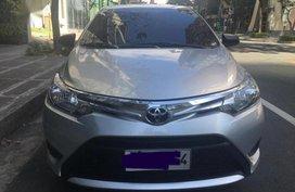 Silver Toyota Vios 2014 for sale in Las Piñas City
