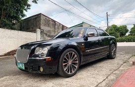 Black Chrysler 300c 2010 for sale in Quezon City