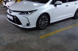 Sell White 2020 Toyota Corolla Altis in Manila