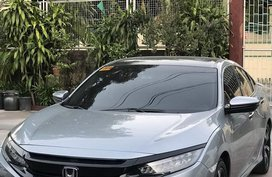 Selling Silver Honda Civic 2016 in Quezon City