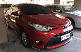 Red Toyota Vios 2010 for sale in Manila