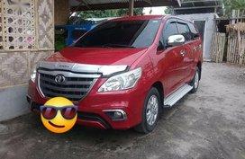 Selling Red Toyota Innova 2015 in Manila