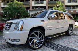 """Cadillac Escalade ESV 24"""" mags Long Wheel Base"""
