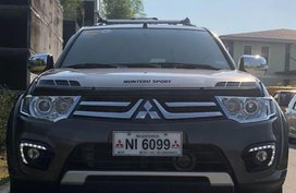 Sell Brown 2015 Mitsubishi Montero Sport in Dasmariñas City