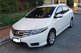 White Honda City 2013 for sale in Muntinlupa City