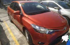 Selling Orange Toyota Vios 2017 in Makati