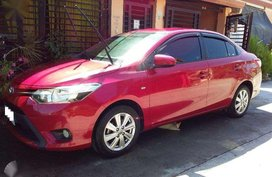 Red Toyota Vios 2015 for sale in Mandaluyong City