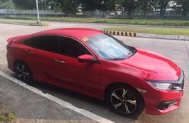 Sell Red 2018 Honda Civic in Binan City