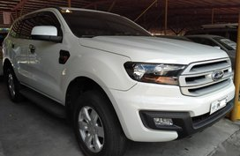 White Ford Everest 2017 for sale in Manila