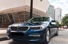 BMW 520D Blue Available in Pasig Metro Manila Low Mileage