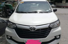 White Toyota Avanza 2019 1.3 J MT slightly nego in Parañaque