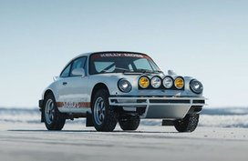 Who says Porsches can't go off-roading? Check out these safari-spec 911