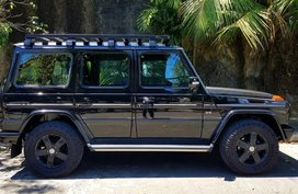 Black Mercedes-Benz G-Class 2014 for sale in Pasig