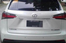 White Lexus NX 200T 2016 Model For Sale in Quezon City