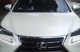 White Lexus NX 200T 2016 Model For Sale