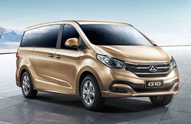 Get P50K discount when you buy a Maxus G10 until end of July