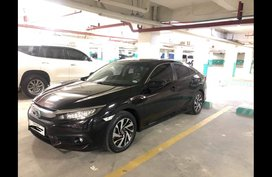 Selling Black Honda Civic 2016 in Parañaque