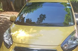 Selling Yellow Kia Picanto 2015 in Caloocan