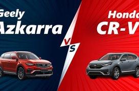 2020 Geely Azkarra vs Honda CR-V Specs Comparison
