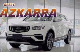 2020 Geely Azkarra Luxury Mild Hybrid Crossover