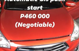 MITSUBISHI MIRAGE 2018 GLS AUTOMATIC ORANGE (MANILA)