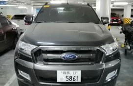 Sell Black 2015 Ford Ranger Truck in Manila