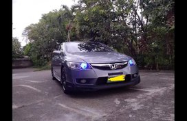 Silver Honda Civic 2007 for sale in Cabanatuan City