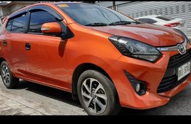 Sell Orange  2019 Toyota Wigo in Pasay City