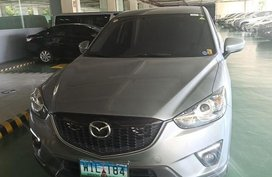 Silver Mazda Cx-5 2013 for sale in Manila