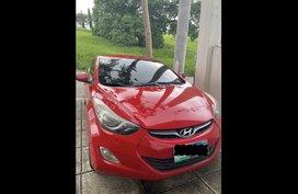 Red Hyundai Elantra 2012 for sale in Muntinlupa