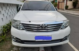 Toyota Fortuner G 2015