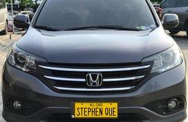 2015 Honda CR-V 4WD A/T Color:  Modern Steel