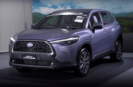 See the all-new Toyota Corolla Cross up close in this walkaround video