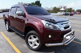 Red Isuzu D-Max 2015 for sale in Manila