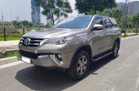 2017 Toyota Fortuner G
