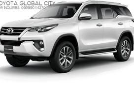BRAND NEW TOYOTA FORTUNER 4X2 G DSL AT