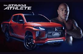 Brandon Vera is exactly what the 2020 Mitsubishi Strada Athlete represents