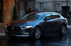 Turbo Mazda3 is also available for sedan, but you still can't buy one