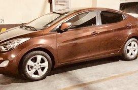 Bronze Hyundai Elantra 2013 for sale in Manila