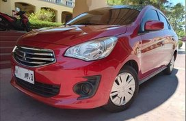 Red Mitsubishi Mirage 2017 for sale in Manila
