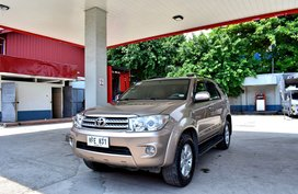2011 TOYOTA FORTUNER G 4 X2 A/T BROWN