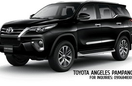 129K ALL IN PROMO! TOYOTA FORTUNER G DSL AT