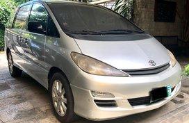 Silver Toyota Previa 2004 for sale in Manila
