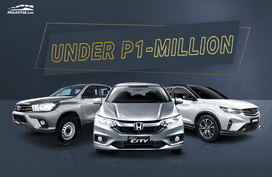 12 Valued-packed cars you can buy under Php 1-million