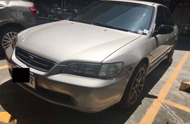 Sell Beige 1999 Honda Accord in Davao