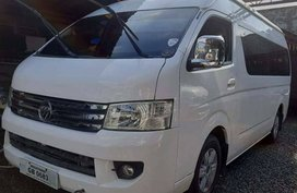 Foton Traveller 2016 MT 688t Nego Batangas Area Manual