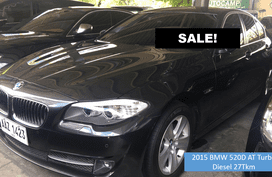 EAZY BUY - 2015 BMW 520D AT Turbo Diesel 27Tkm