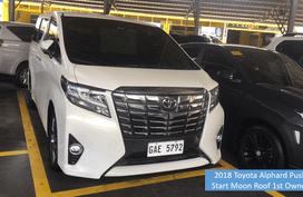 EAZY BUY - 2018 Toyota Alphard Push Start Moon Roof 1st Owner